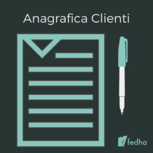 Anagrafica Clienti Fedha